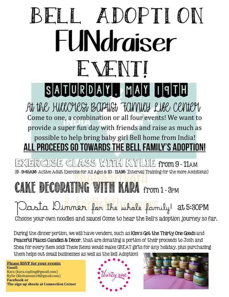 Bell Adoption Fundraiser